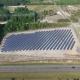 Alder Energy Jamison Solar Farm aerial view